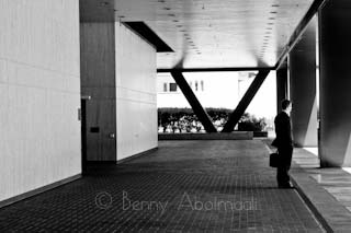 black and white benny abolmaali california