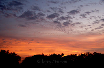 orange sky benny abolmaali photography